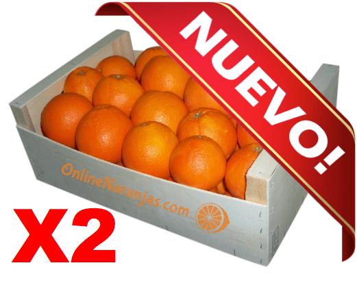 Caja 20kg Naranjas Mesa Premium