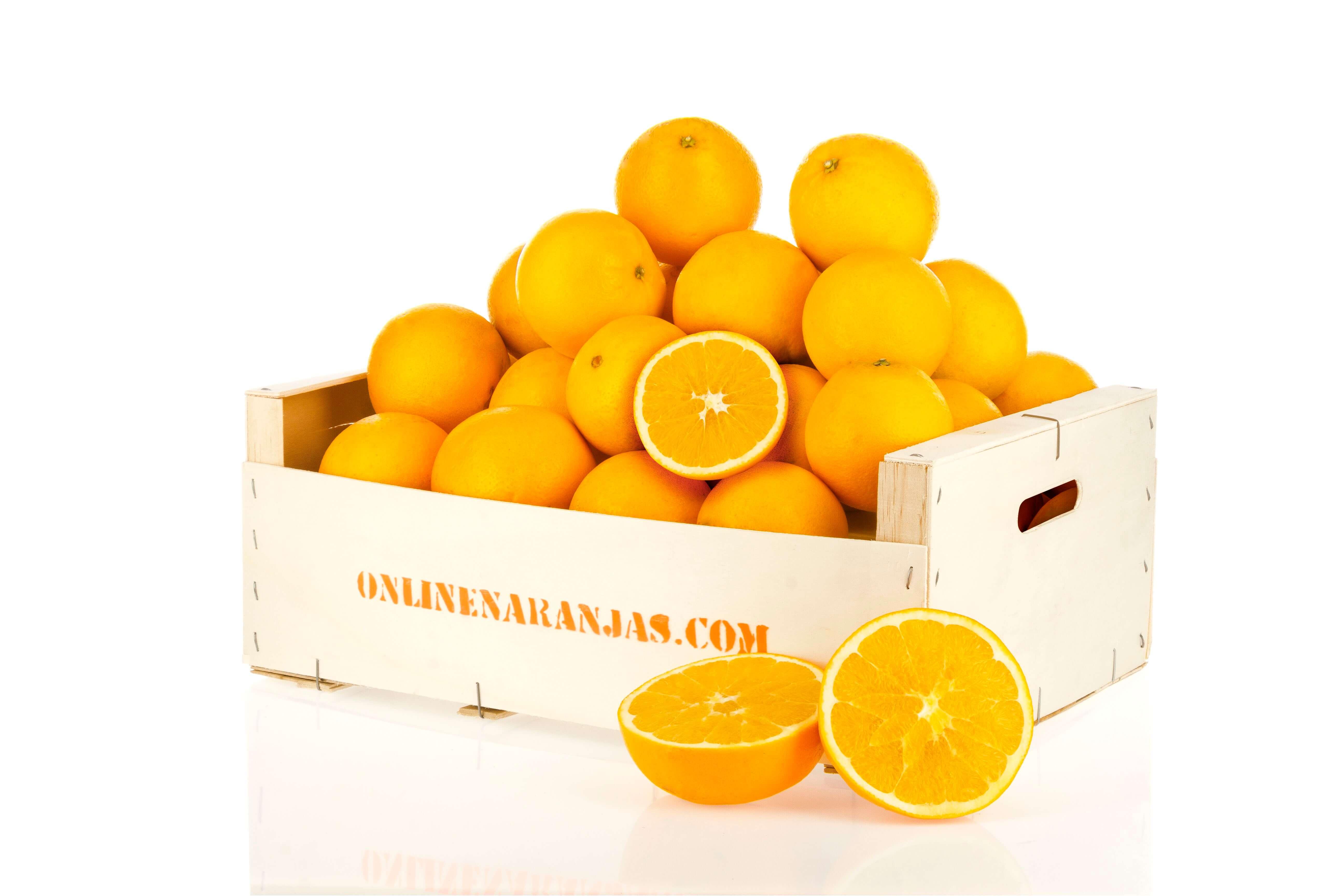 Caja 10kg Naranja Mesa Premium