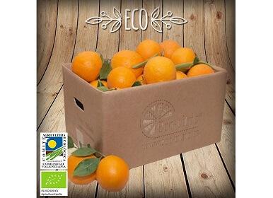 Naranjas ecológicas a granel (mín. 2 Kg)