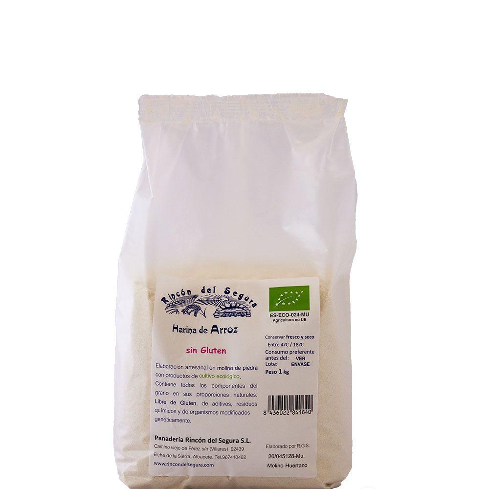 Harina Integral Arroz SIN gluten Bio 25 Kg