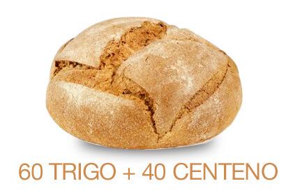 Hogaza de Trigo y Centeno ECO 1,1 Kg