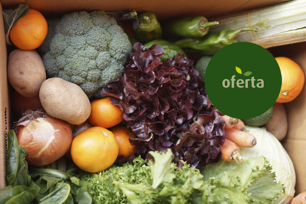 4 organic boxes 9 Kg (22,50 €/u)