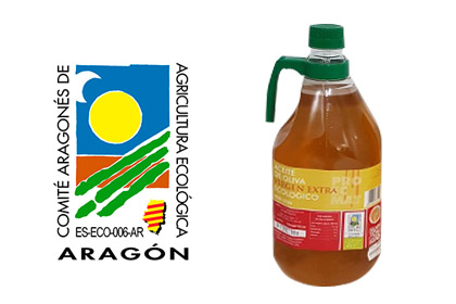 Aceite de oliva virgen extra ecológico 2 L