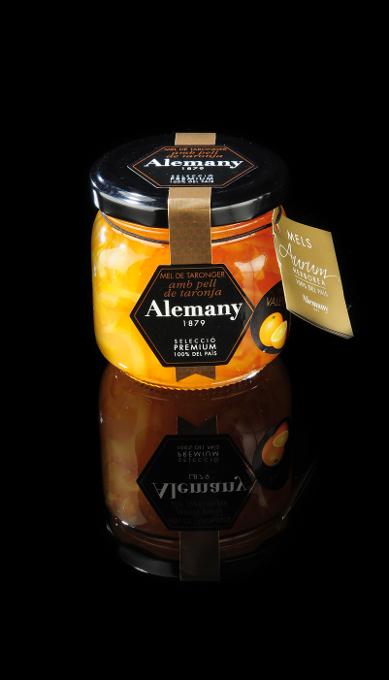 Miel con piel de naranja