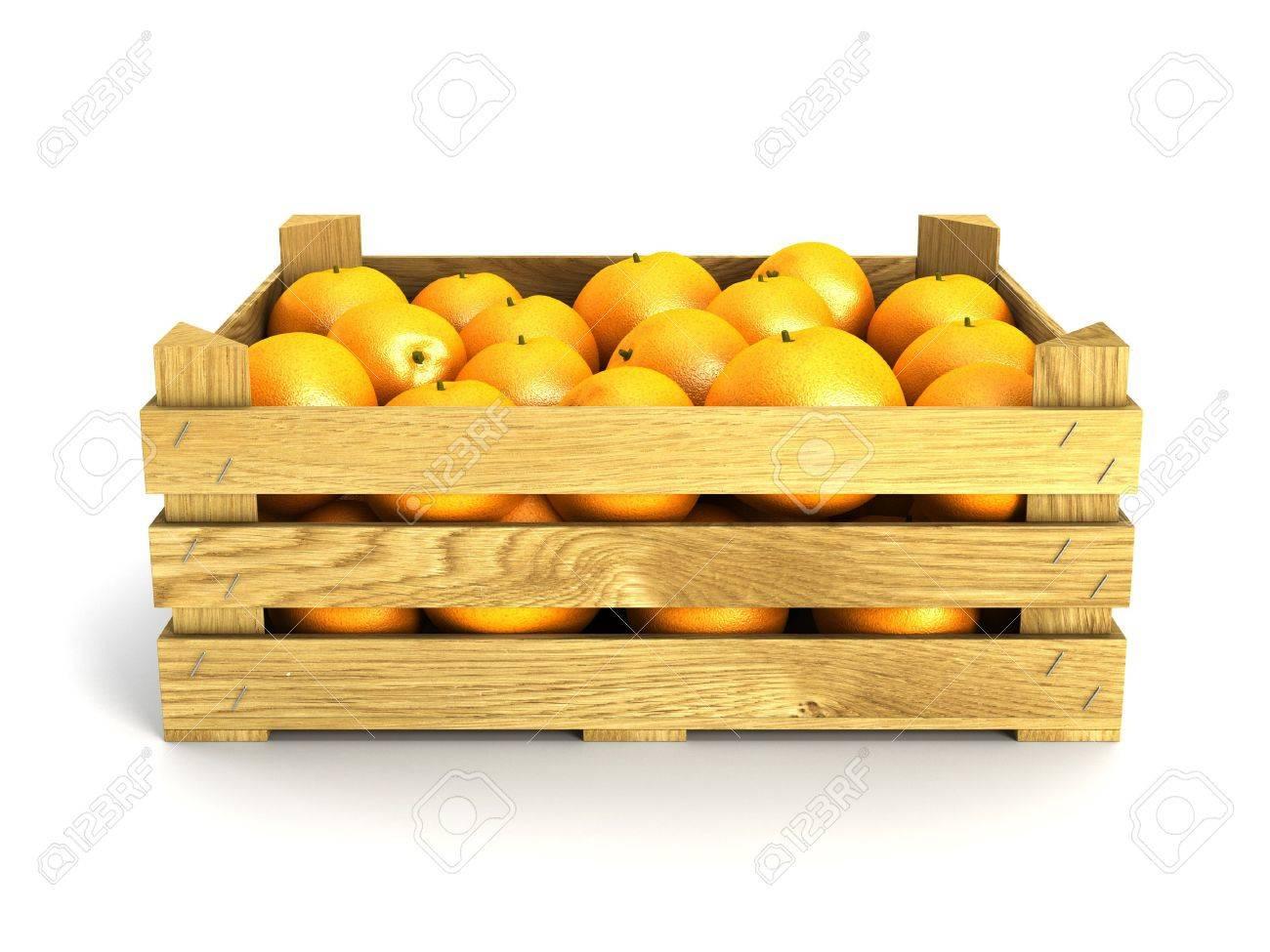 Naranja de zumo y mesa.