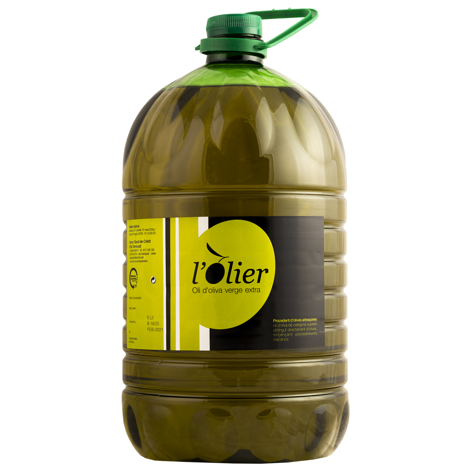 L'OLIER 5L, Extra virgin olive oil