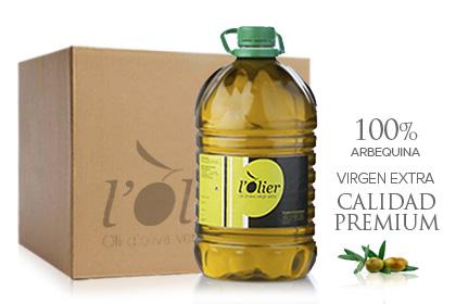 L'OLIER 60L, Aceite de oliva virgen extra