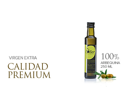 L'OLIER 250cc, Extra virgin olive oil