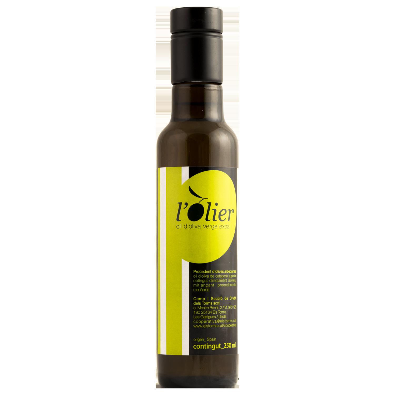 L'OLIER 250cc, Aceite de oliva virgen extra