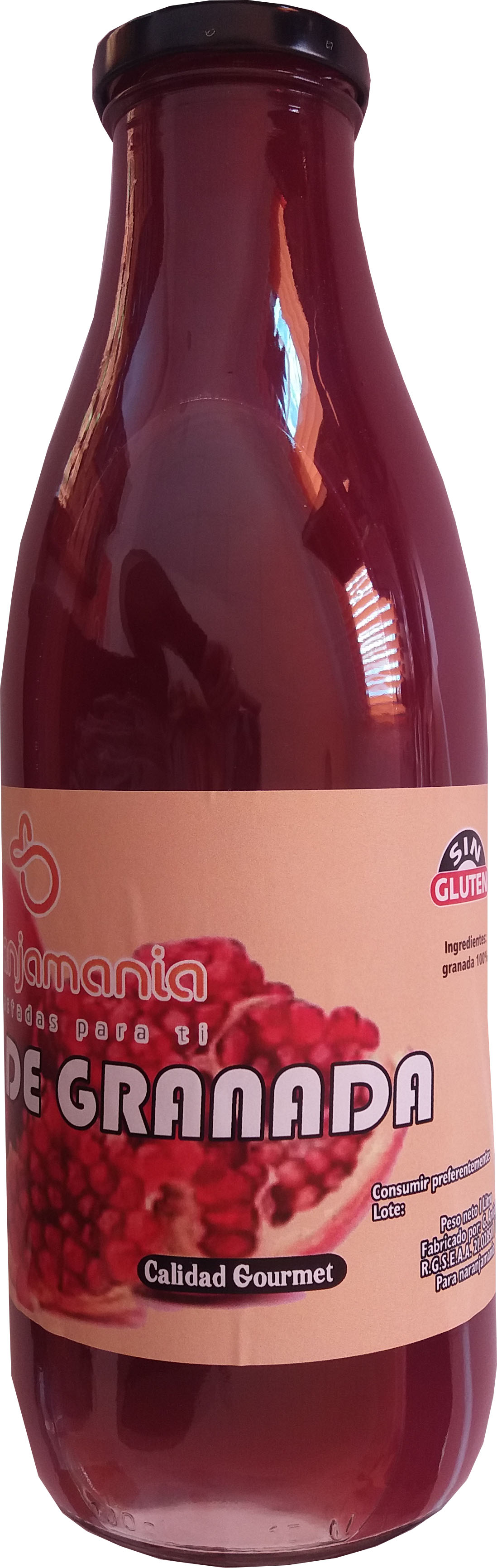Natural juice of pomegranate box of 4 liters.