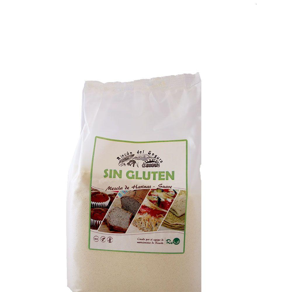 Mezcla Suave de harinas SIN GLUTEN Bio 1 kg