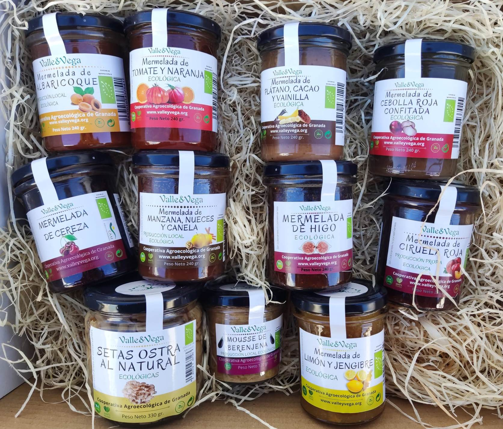 ECO JAM AND CANNED TASTING BASKET