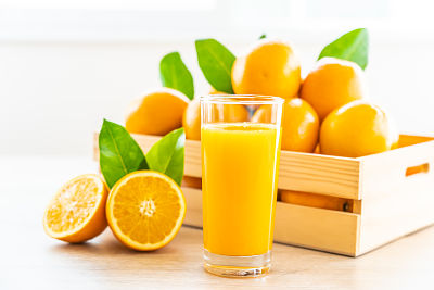 Oranjes for juice from València