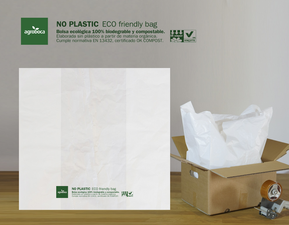 Bolsas ecológicas 100% biodegradables y compostables