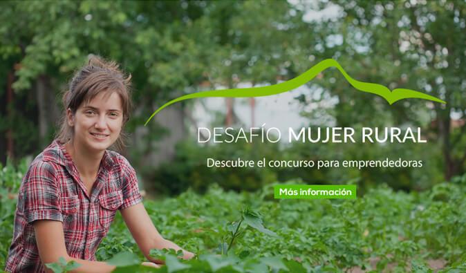 concurso desafio mujer rural