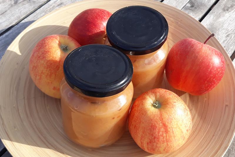 manzanas frescas de temporada
