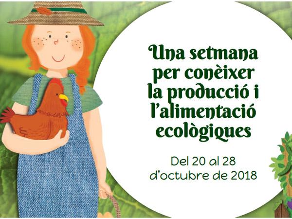 La Setmana Bio per l'alimentació ecològica