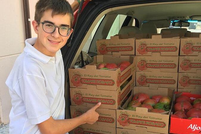 Comprar tomate rosado de Barbastro