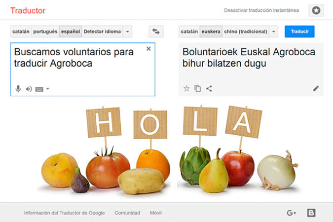 traductores voluntarios