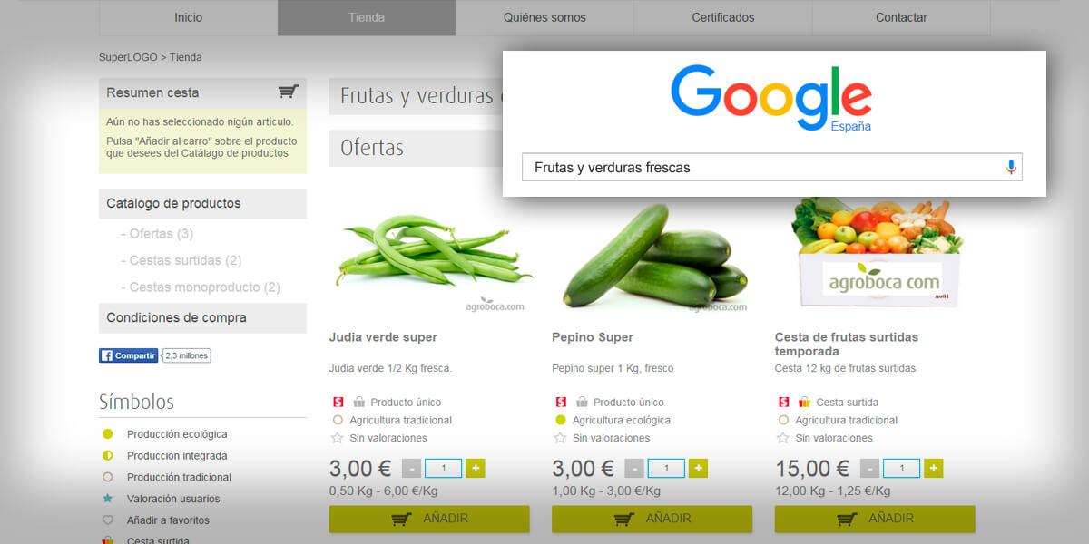 Tienda online  gratis para agricultores y emprendedores