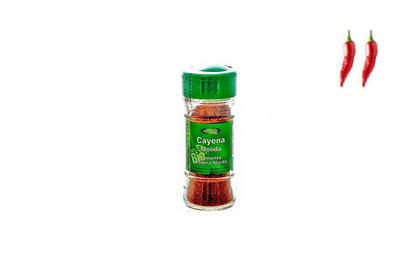 Cayena o chile molido ecológico (6 unid.)