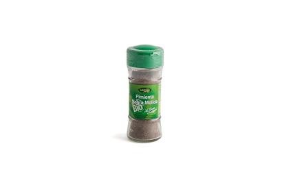 Pimienta negra ecológica molida (6 unid.)