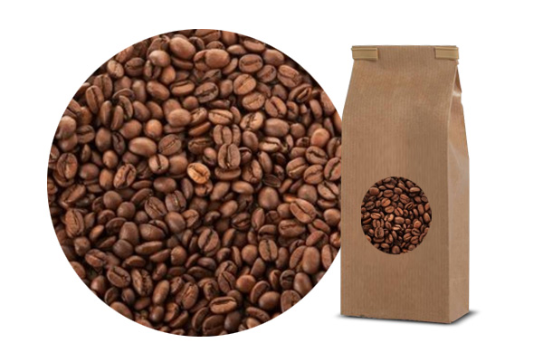 Organic coffee arabica 100% grain