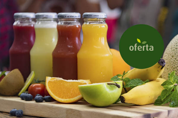 4 Cestas solo fruta ecológica de 8 Kg (24 €/u) para oficinas
