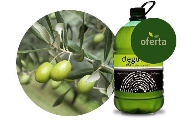 Organic olive oil virgin extra (15L)