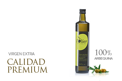 L'OLIER 750cc, Aceite de oliva virgen extra