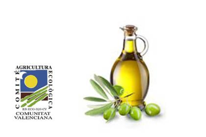 Oli ecològic d'oliva verge extra  5,6€/L