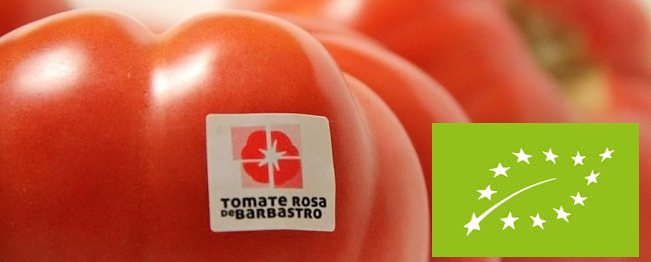 Tomate Rosa de Barbastro Original Ecologico