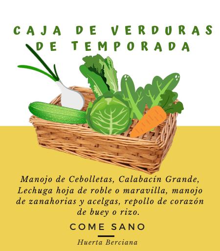 Caja de Verduras Frescas de Temporada