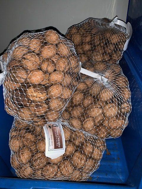 Nueces sin calibrar 5 kg (con cáscara)