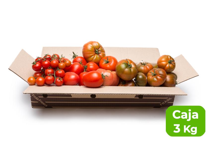 Caja degustación de tomates de Temporada